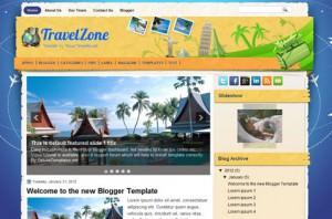 Шаблон туризм TravelZone