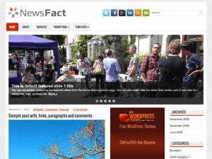 Новостной шаблон - NewsFact