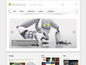 Шаблон DroidPress