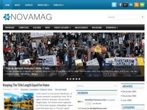 Универсальный шаблон NovaMag