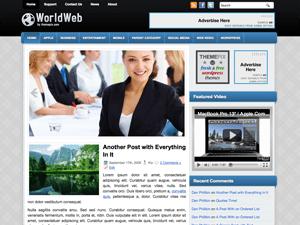 Шаблон WorldWeb