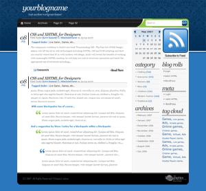 Шаблон BlueUzor для WordPress