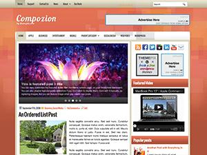 Wordpress тема Compozion