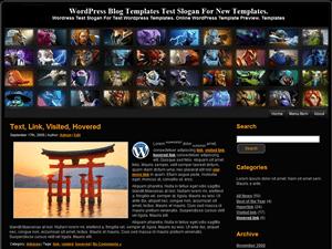 Wordpress тема онлайн-игры Dota-2-Heroes