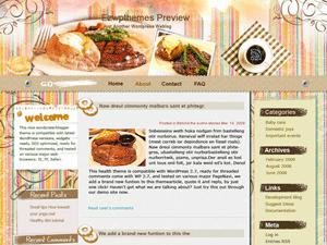 Кулинарная тема Вордпресс Be-a-Gourmet