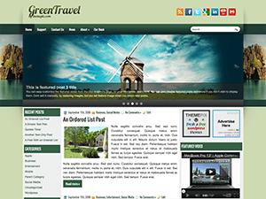 Вордпресс тема туризм GreenTravel