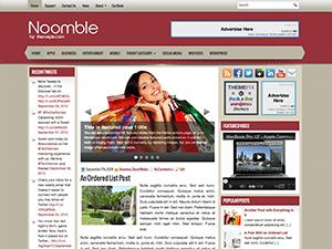 Wordpress тема шопинг Noomble
