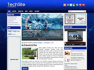 Wordpress тема техно Techsite