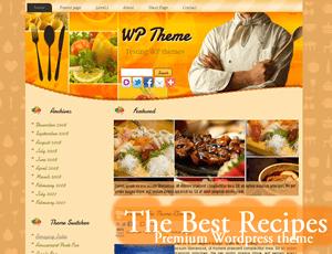 Вордпресс тема кулинария The-Best-recipes
