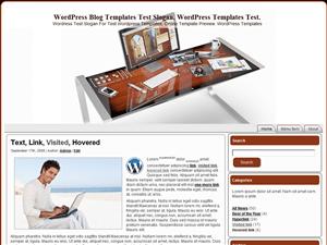 Простой Вордпресс шаблон Designer-Table
