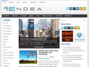 Универсальная Вордпресс тема Endea