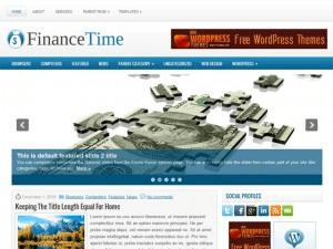 Финансовая тема Вордпресс FinanceTime