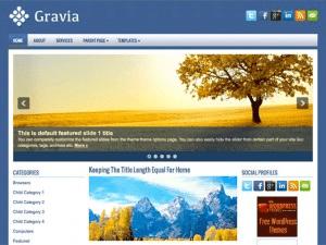 Универсальная тема WordPress Gravia