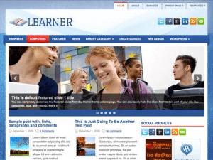 Wordpress тема образование Learner