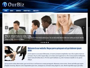 Бизнес шаблон WordPress OurBiz