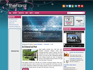 Универсальный шаблон Вордпресс TheFloral