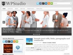 Универсальная Вордпресс тема WpStudio