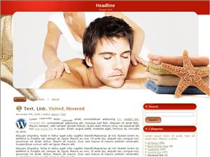 Вордпресс шаблон отдых Beauty-spa