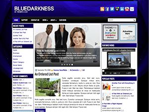 Универсальная тема WordPress Blogdarkness