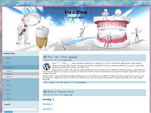 Вордпресс шаблон медицина Dentist-care