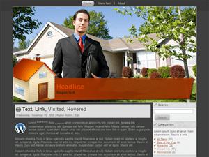 Home-dealer - шаблон на тему недвижимости