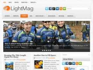 Светлый шаблон Вордпресс Lightmag
