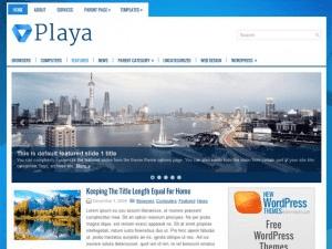Универсальная тема Вордпресс Playa