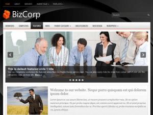 Бизнес тема для Вордпресс Bizcorp