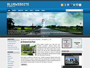Универсальная тема WordPress BlurWebsite