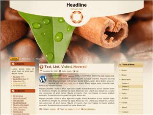 Вордпресс тема кулинария Coffee-with-cinnamon