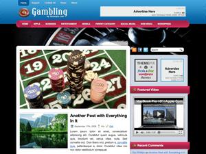 Вордпресс тема о гэмблинге Gambling