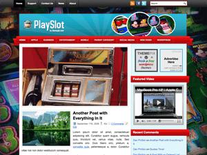 Вордпресс тема азартные игры PlaySlot