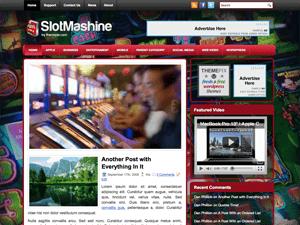 Wordpress тема игровые автоматы SlotMachine