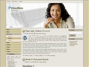 Бизнес шаблон Вордпресс Account-plan