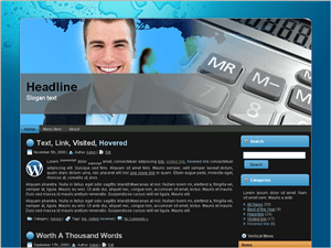 Бизнес тема Вордпресс Accountant-approach