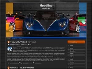Автомобильный шаблон Вордпресс Auto-display