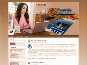 Бизнес тема Ворд пресс Balance-transfer