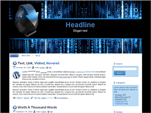 Шаблон WordPress хостинг Best-hosting-information