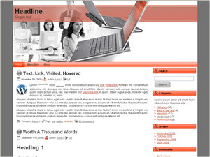 Вордпресс шаблон бизнес Balance-transfer