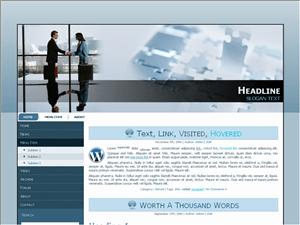 Бизнес тема Ворд пресс Best-business-partners