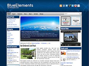 Универсальная тема Вордпресс BlueElements