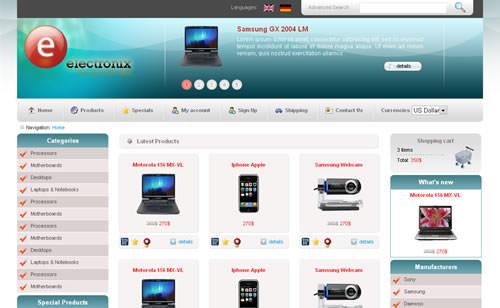 Создание электронных магазинов