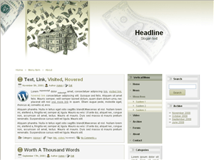 Wordpress шаблон недвижимость Best-mortgage-rates