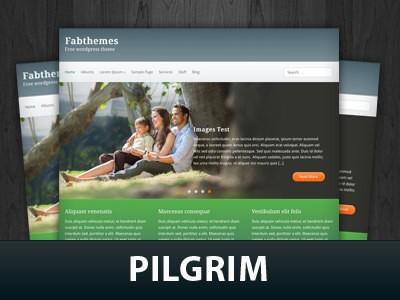 Современная тема Вордпресс Pilgrim