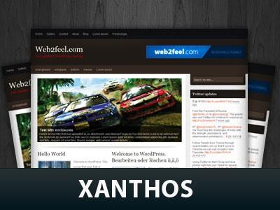 Авто шаблон Ворд пресс Xanthos