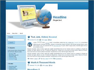 Wordpress тема хостинг Best-hosting