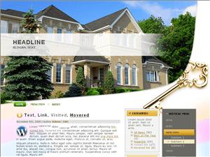 Вордпресс тема о недвижимости Big-home