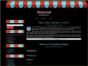 Wordpress тема кулинария Bistro-info