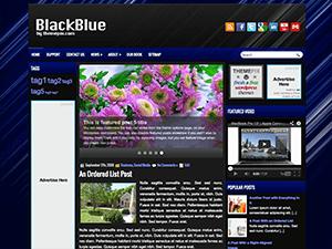Универсальная тема WordPress BlackBlue