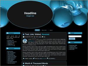 Бизнес тема Вордпресс Blue-design